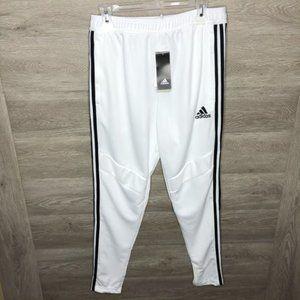 Adidas Mens Medium Tiro 19 Pants White NEW